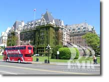 Downtown Victoria - Double Decker Sightseeing